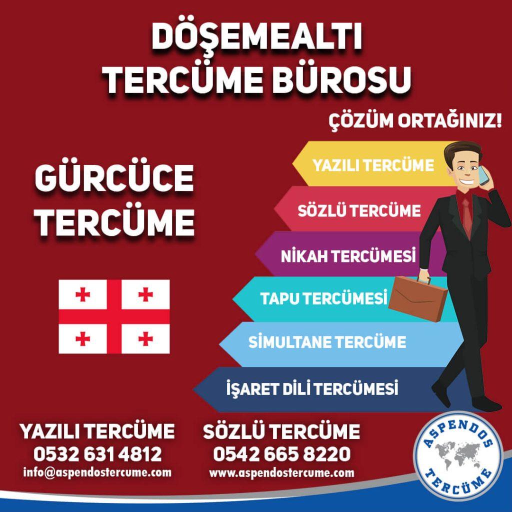 Döşemealtı Tercüme Bürosu - Gürcüce Tercüme - Aspendos Tercüme