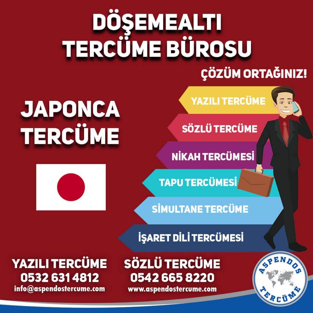 Döşemealtı Tercüme Bürosu - Japonca Tercüme - Aspendos Tercüme
