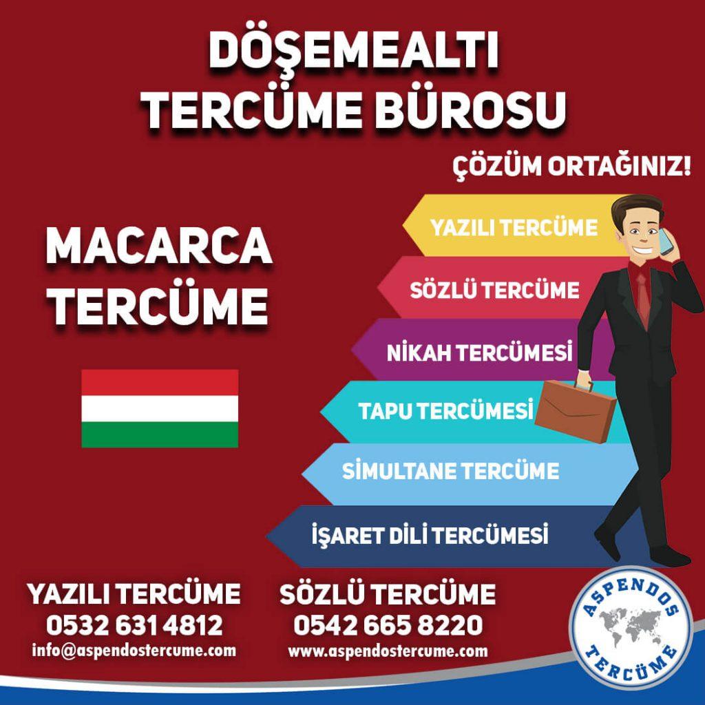Döşemealtı Tercüme Bürosu - Macarca Tercüme - Aspendos Tercüme