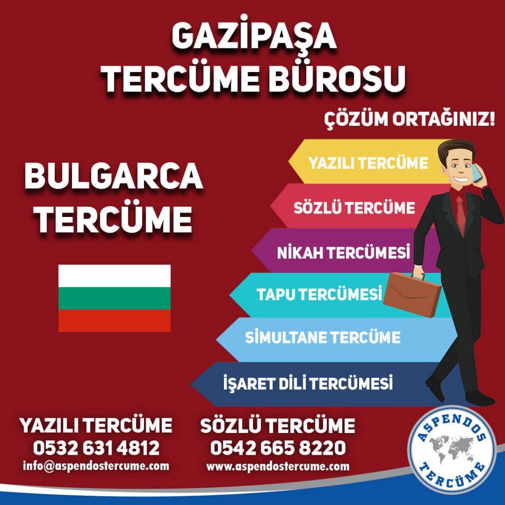 Gazipaşa Tercüme Bürosu - Bulgarca Tercüme - Aspendos Tercüme