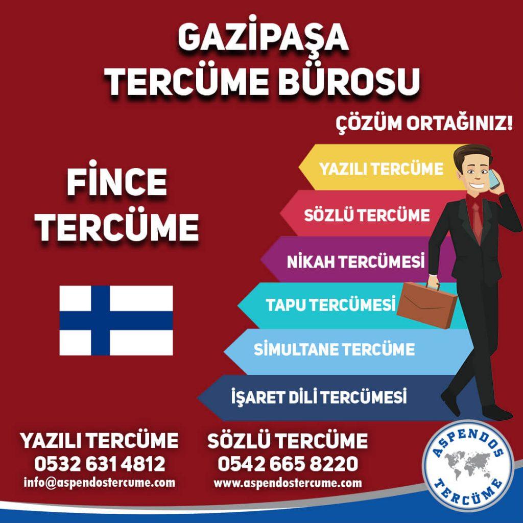 Gazipaşa Tercüme Bürosu - Fince Tercüme - Aspendos Tercüme
