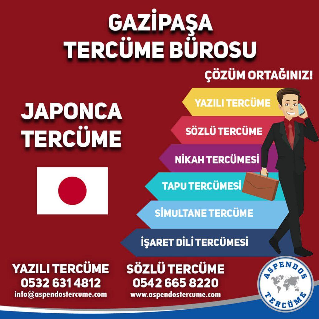 Gazipaşa Tercüme Bürosu - Japonca Tercüme - Aspendos Tercüme