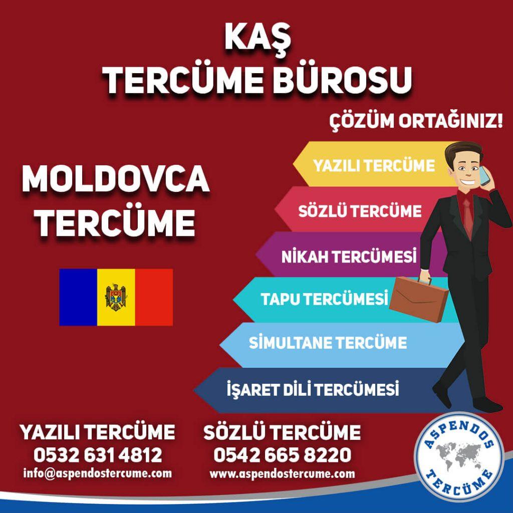 Kaş Tercüme Bürosu - Moldovca Tercüme - Aspendos Tercüme