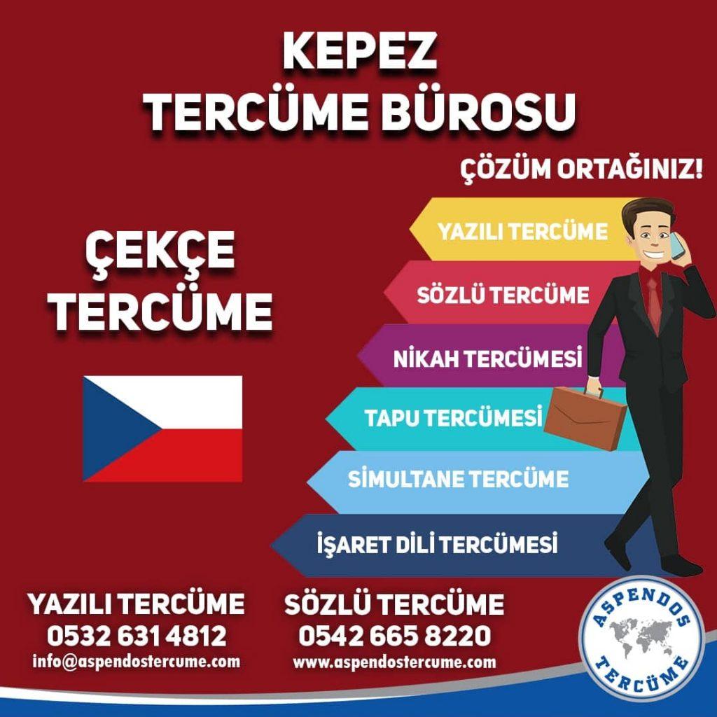 Kepez Tercüme Bürosu - Çekçe Tercüme - Aspendos Tercüme