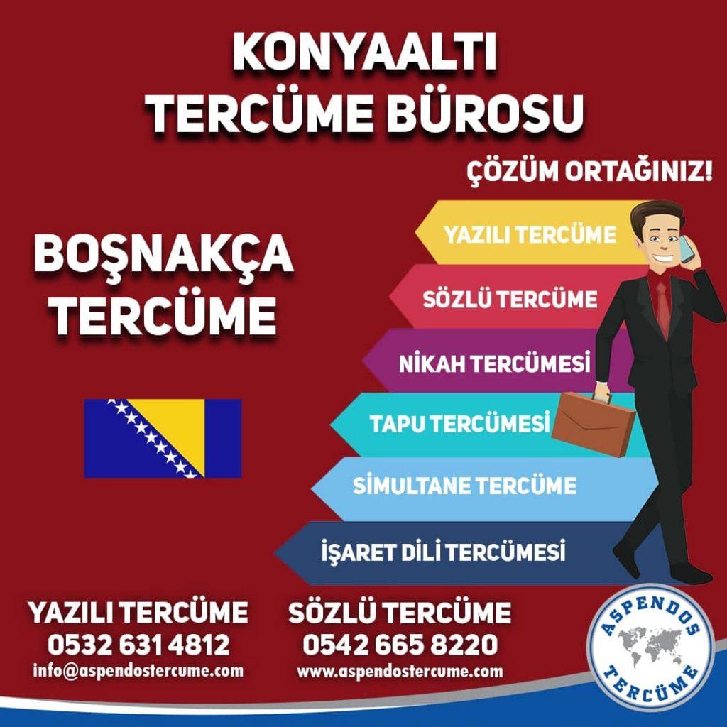 Konyaaltı Tercüme Bürosu - Boşnakça Tercüme - Aspendos Tercüme