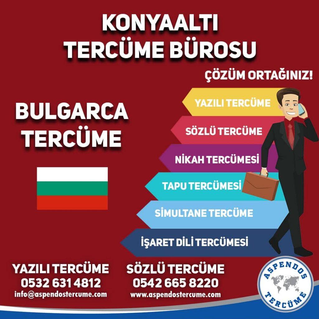 Konyaaltı Tercüme Bürosu - Bulgarca Tercüme - Aspendos Tercüme