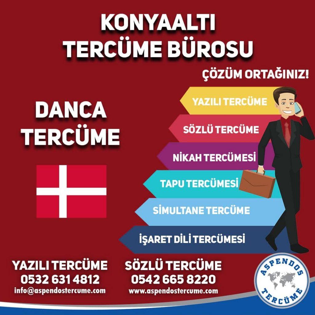 Konyaaltı Tercüme Bürosu - Danca Tercüme - Aspendos Tercüme