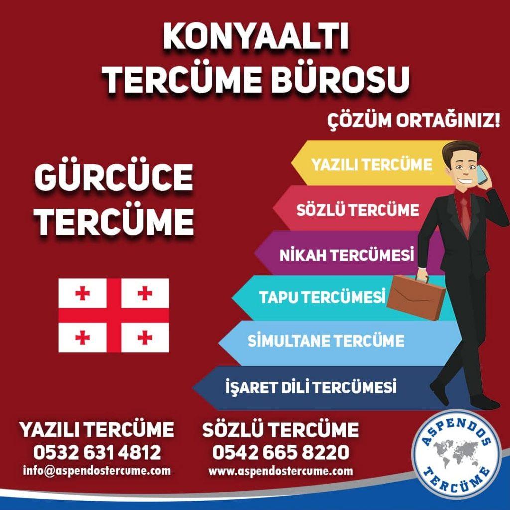 Konyaaltı Tercüme Bürosu - Gürcüce Tercüme - Aspendos Tercüme