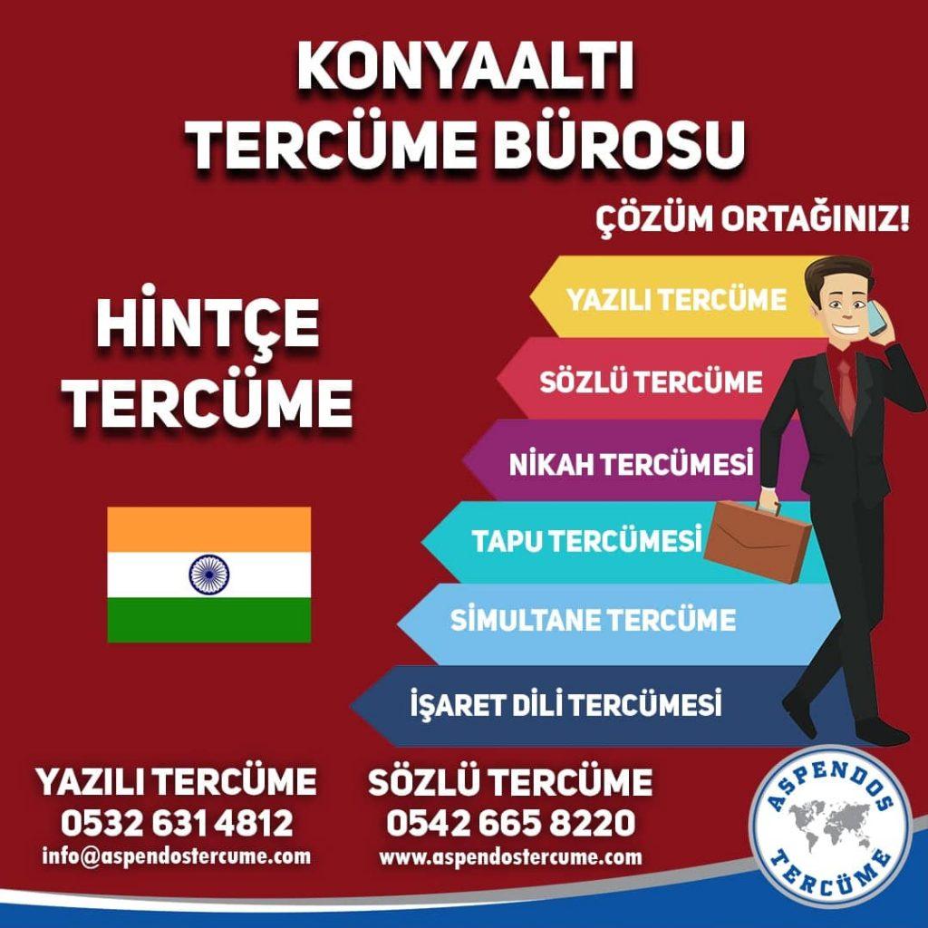 Konyaaltı Tercüme Bürosu - Hintçe Tercüme - Aspendos Tercüme