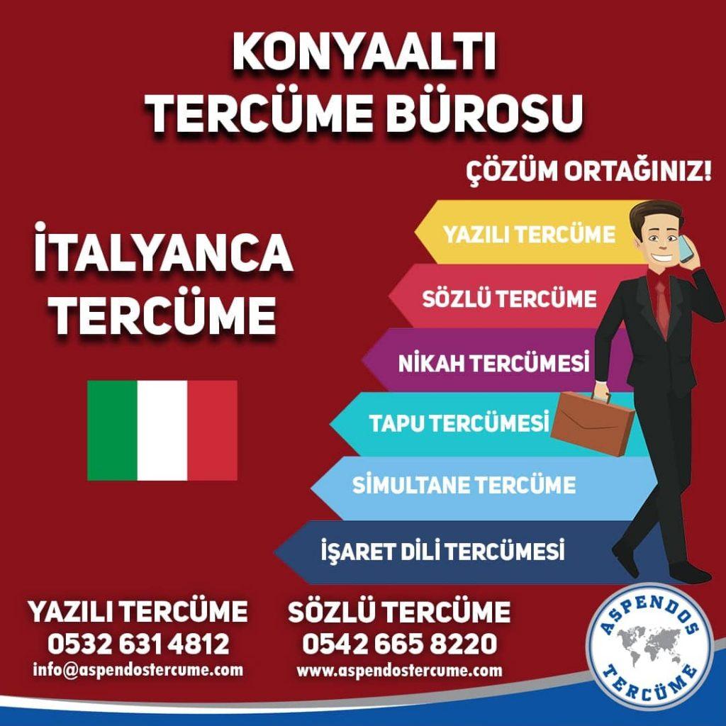 Konyaaltı Tercüme Bürosu - İtalyanca Tercüme - Aspendos Tercüme