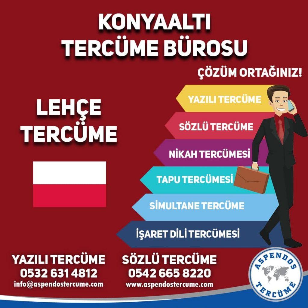 Konyaaltı Tercüme Bürosu - Lehçe Tercüme - Aspendos Tercüme