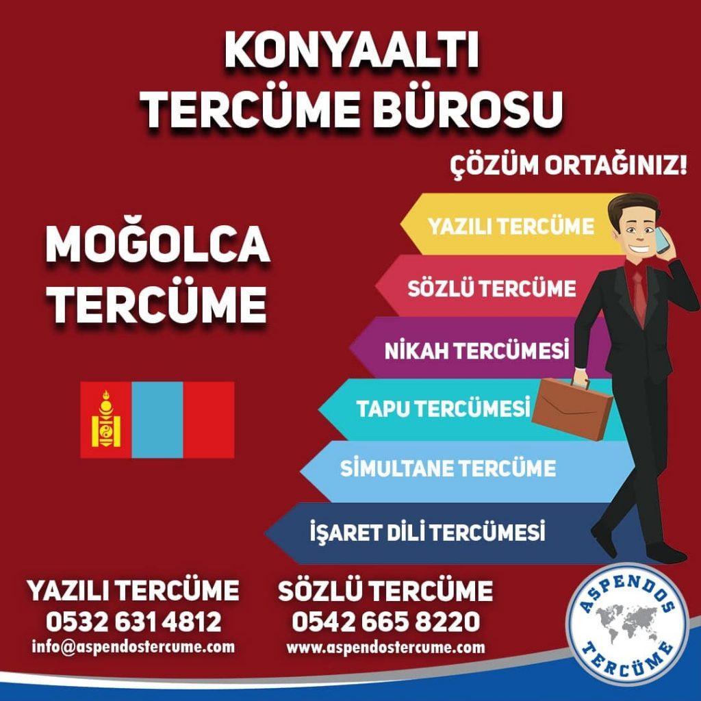 Konyaaltı Tercüme Bürosu - Moğolca Tercüme - Aspendos Tercüme