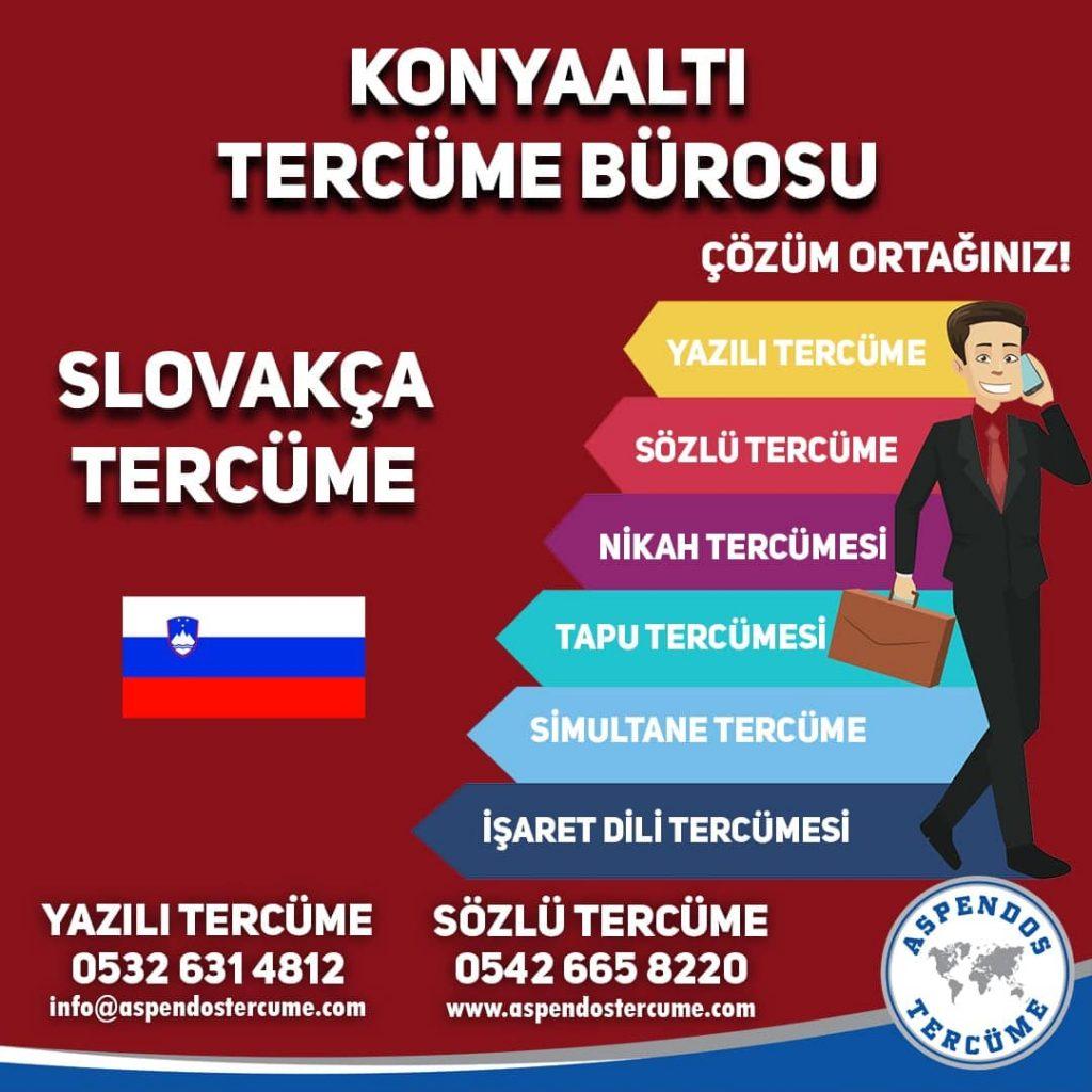 Konyaaltı Tercüme Bürosu - Slovakça Tercüme - Aspendos Tercüme