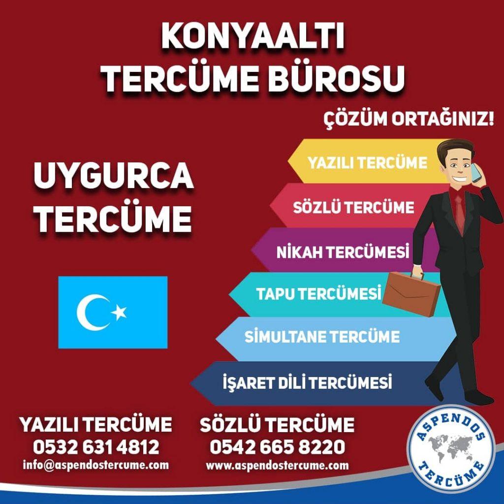 Konyaaltı Tercüme Bürosu - Uygurca Tercüme - Aspendos Tercüme