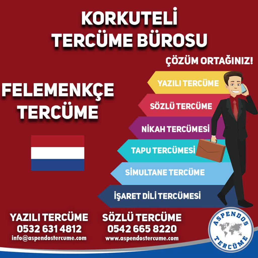 Korkuteli Tercüme Bürosu - Felemenkçe Tercüme - Aspendos Tercüme