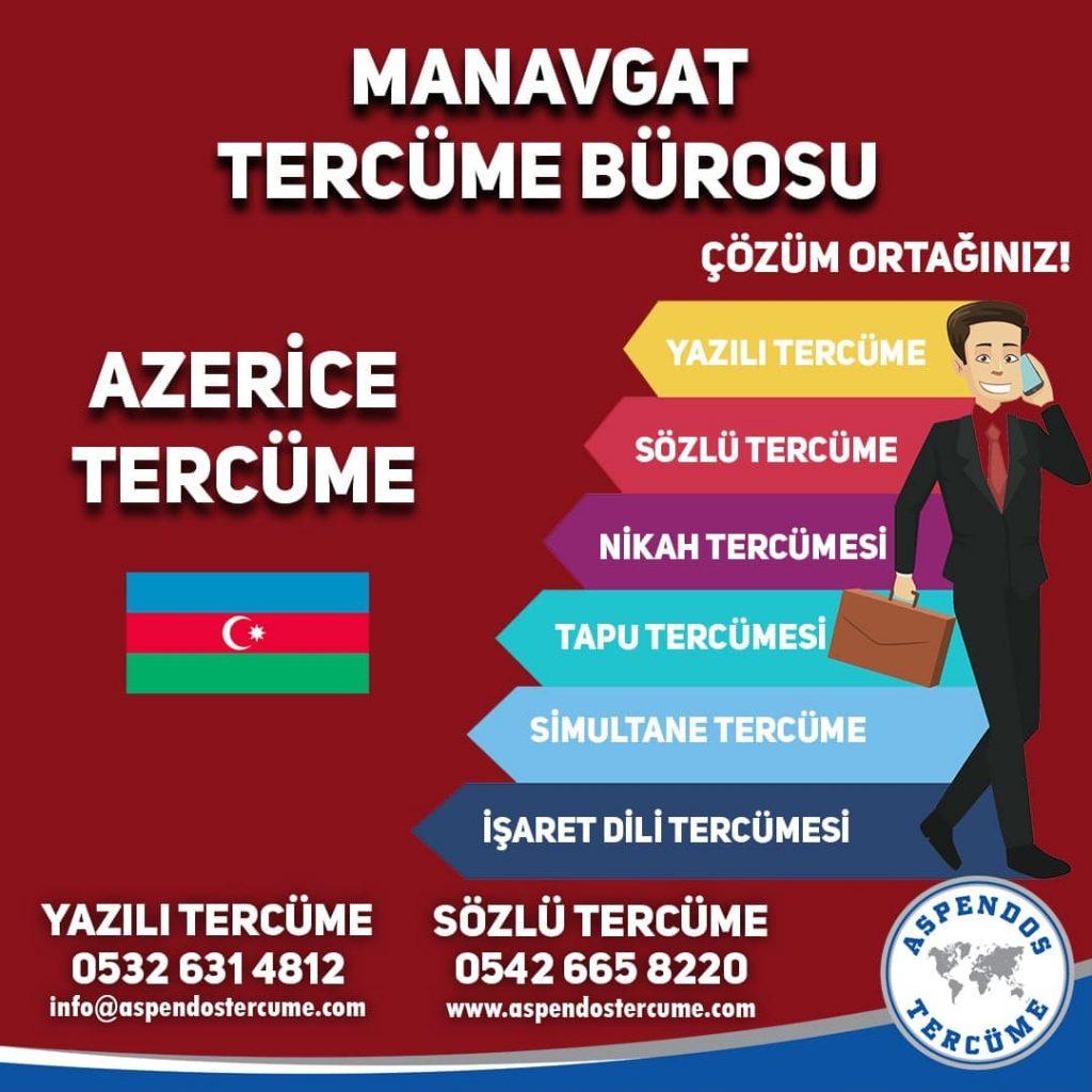 Manavgat Tercüme Bürosu - Azerice Tercüme - Aspendos Tercüme