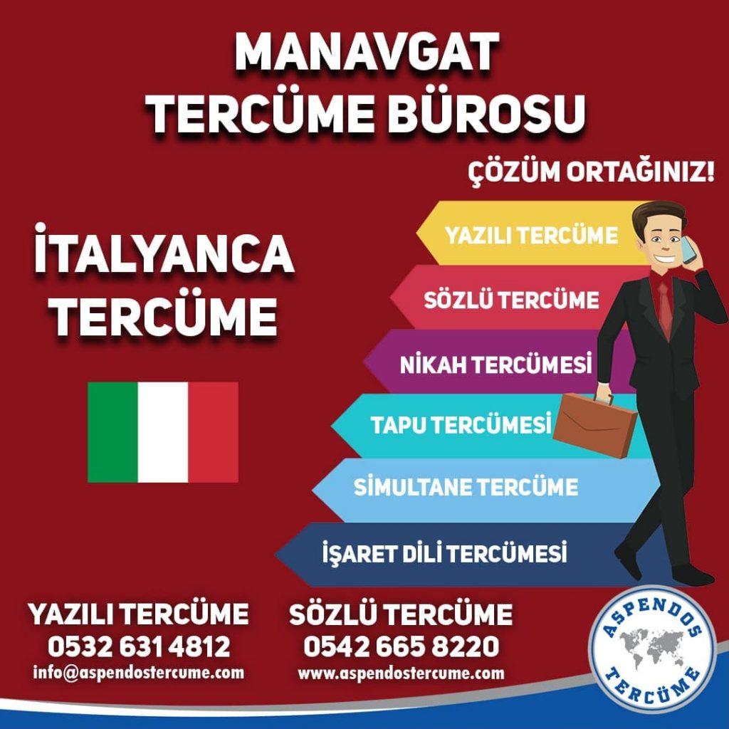 Manavgat Tercüme Bürosu - İtalyanca Tercüme - Aspendos Tercüme