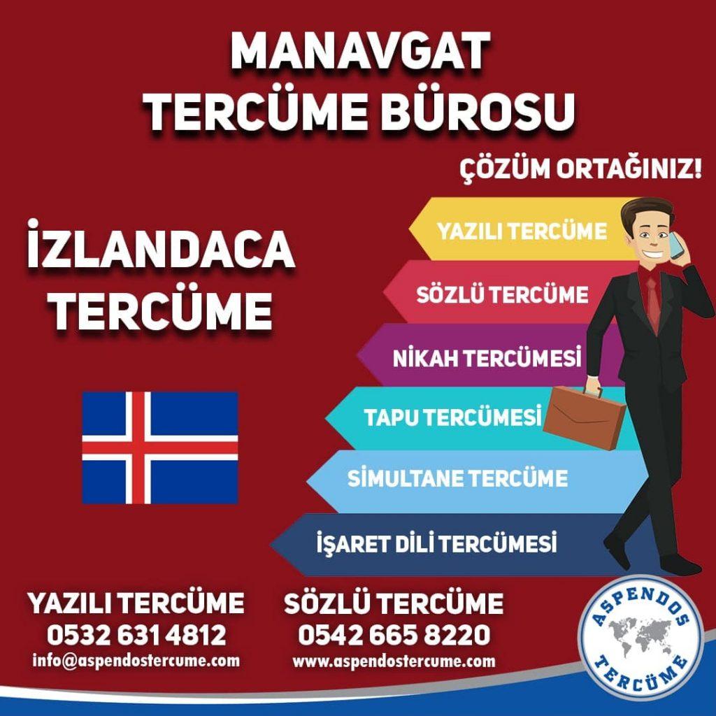 Manavgat Tercüme Bürosu - İzlandaca Tercüme - Aspendos Tercüme