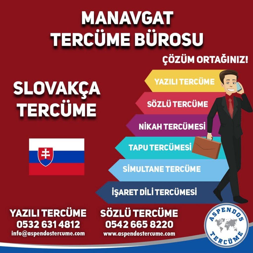 Manavgat Tercüme Bürosu - Slovakça Tercüme - Aspendos Tercüme