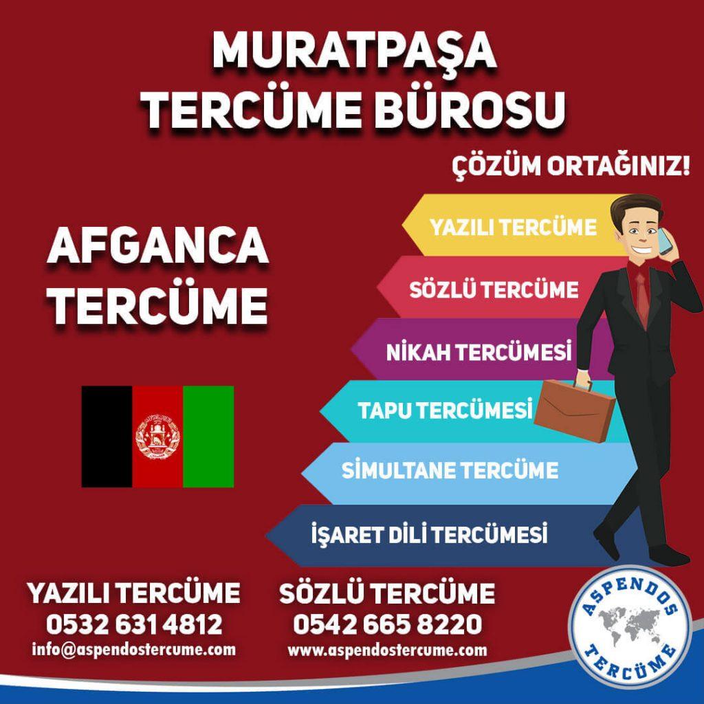 Muratpaşa Tercüme Bürosu - Afganca Tercüme - Aspendos Tercüme