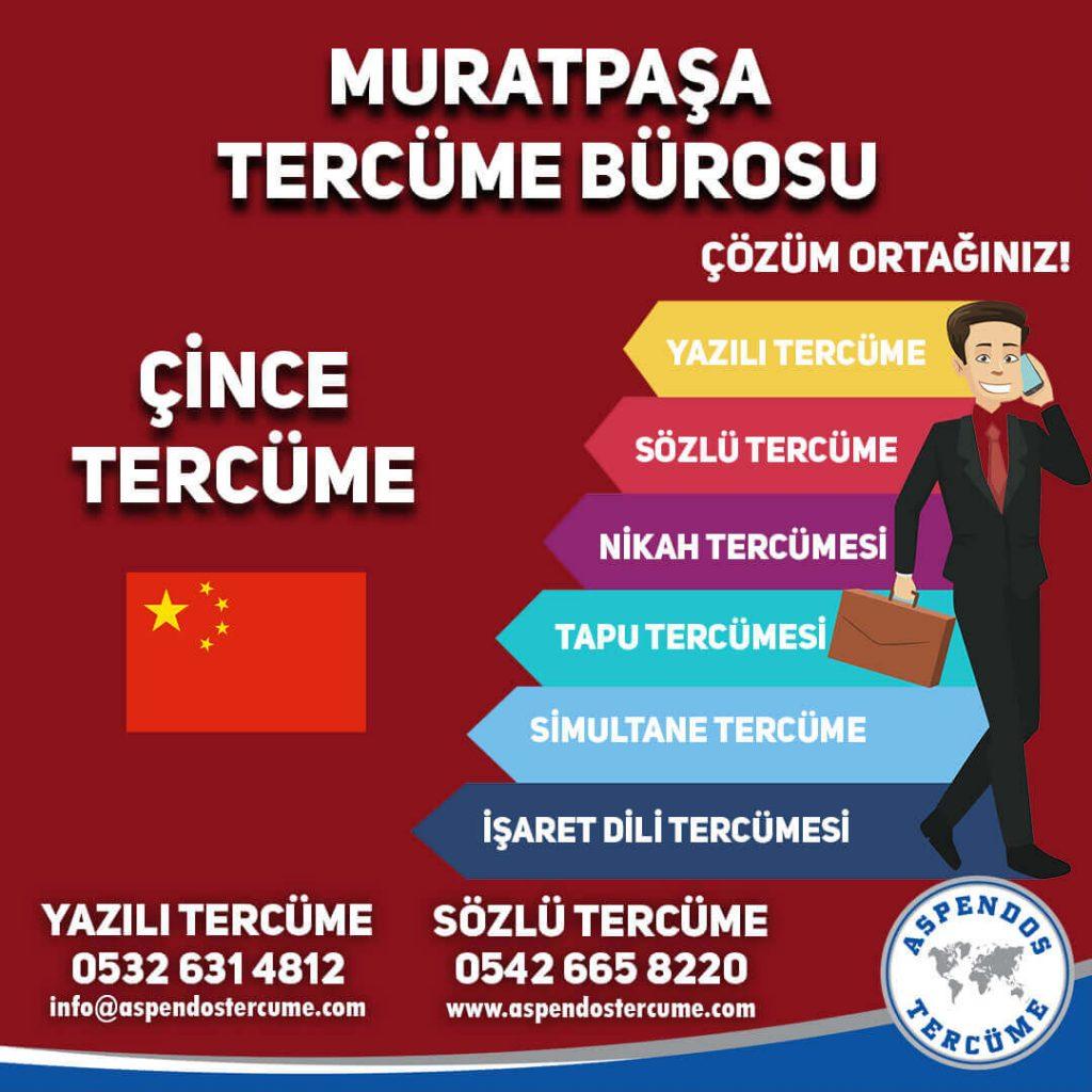 Muratpaşa Tercüme Bürosu - Çince Tercüme - Aspendos Tercüme