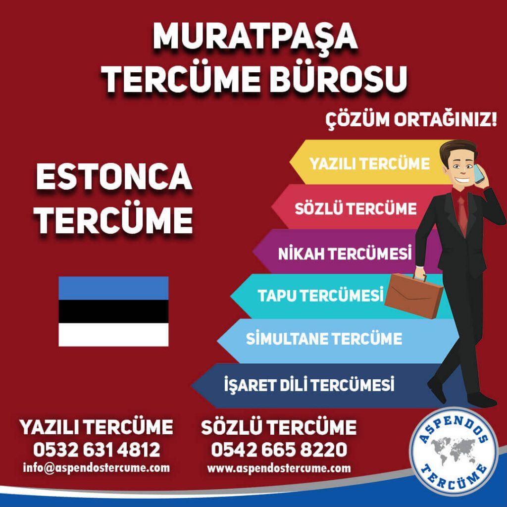Muratpaşa Tercüme Bürosu - Estonca Tercüme - Aspendos Tercüme