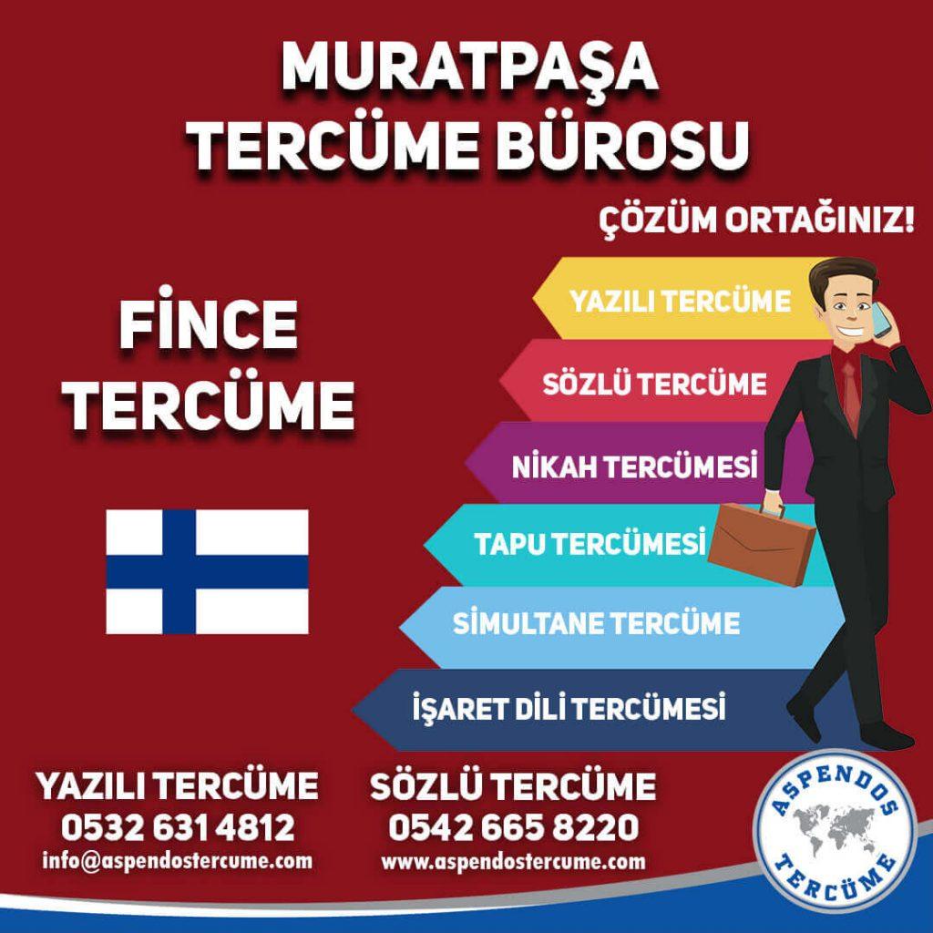 Muratpaşa Tercüme Bürosu - Fince Tercüme - Aspendos Tercüme