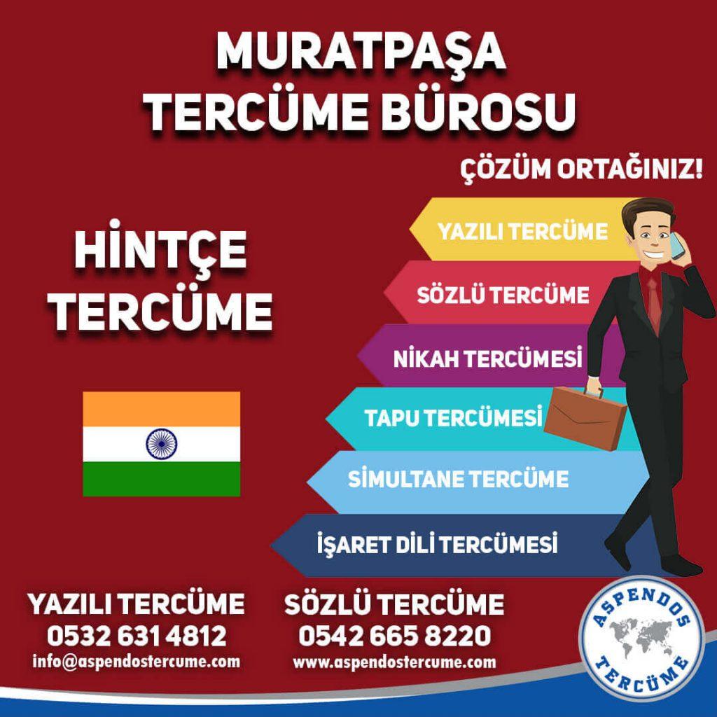 Muratpaşa Tercüme Bürosu - Hintçe Tercüme - Aspendos Tercüme