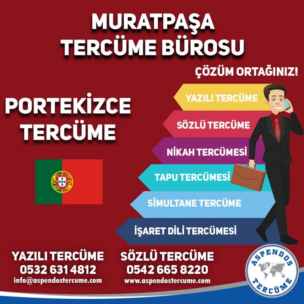Muratpaşa Tercüme Bürosu - Portekizce Tercüme - Aspendos Tercüme