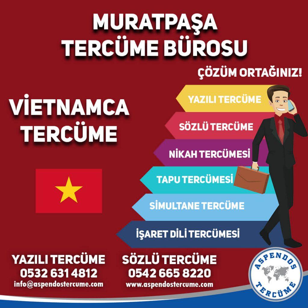 Muratpaşa Tercüme Bürosu - Vietnamca Tercüme - Aspendos Tercüme