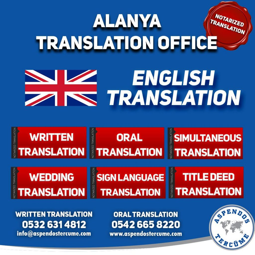 ALANYA TRANSLATION OFFICE