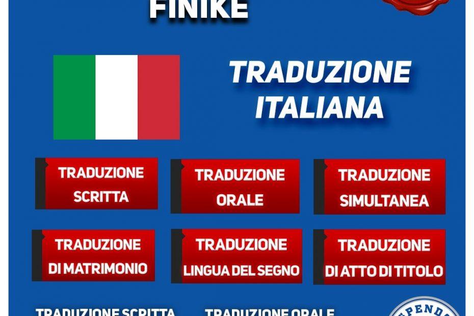 UFFICIO DI TRADUZIONE FINIKE