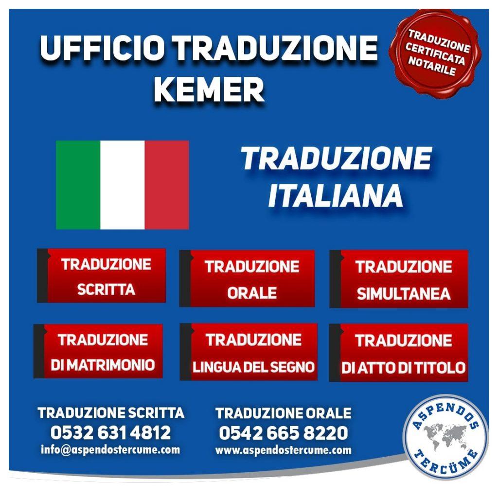 UFFICIO DI TRADUZIONE KEMER