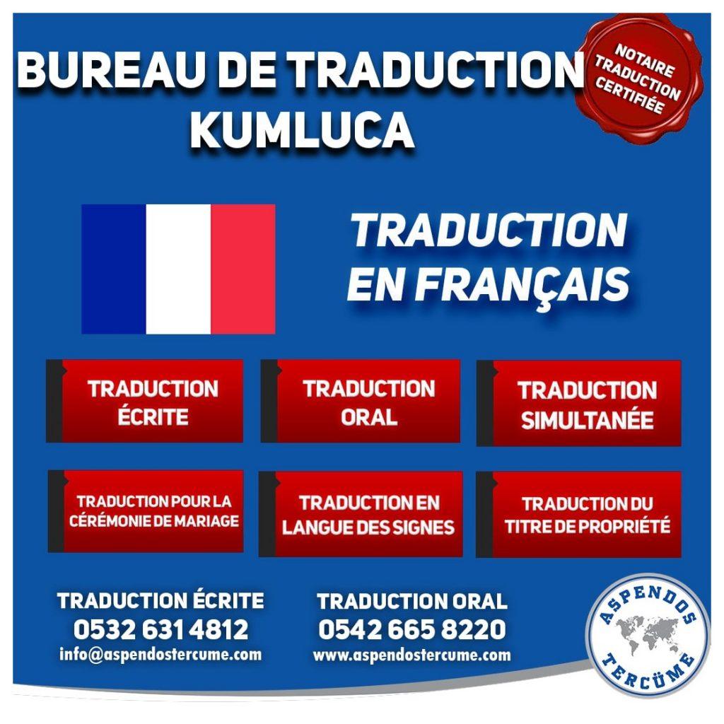 BUREAU DE TRADUCTION DE KUMLUCA