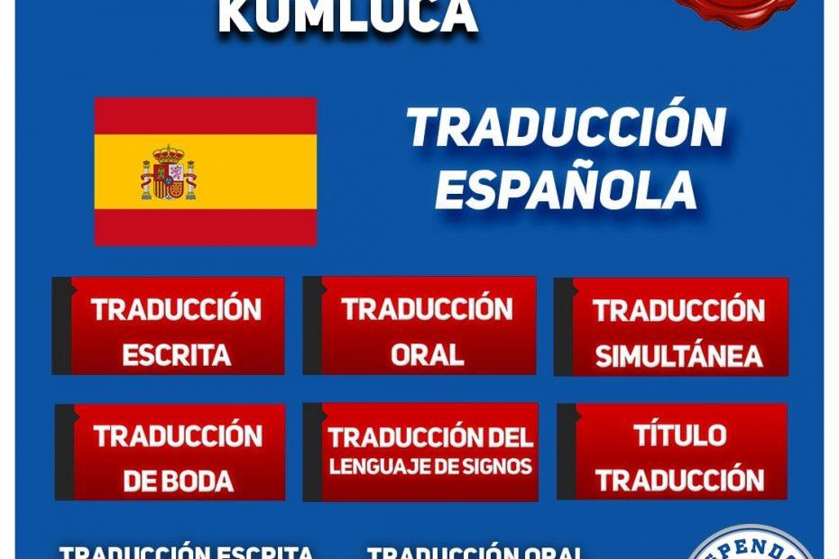 Kumluca Oficina de Traduccion - Traducción Española