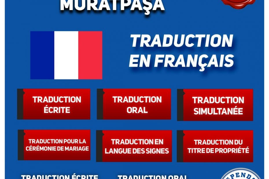 BUREAU DE TRADUCTION DE MURATPAŞA