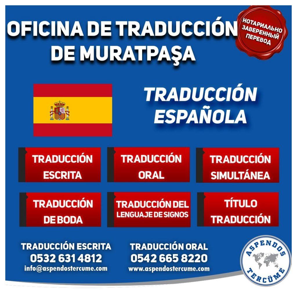 Muratpaşa Oficina de Traduccion - Traducción Española
