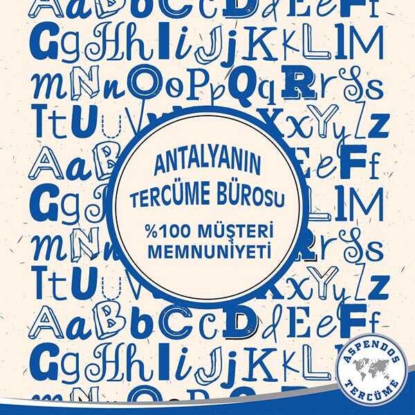 Antalya'nın Tercüme Bürosu