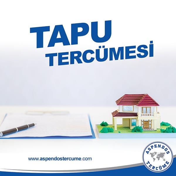 Antalya Tapu Tercümanlığı