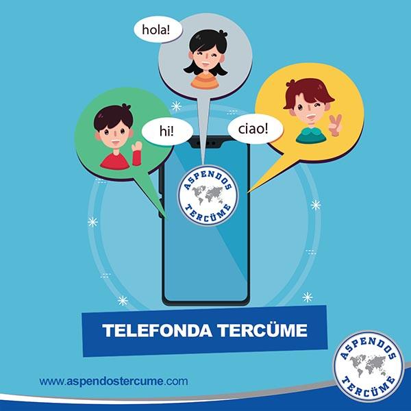 Telefonda Çeviri