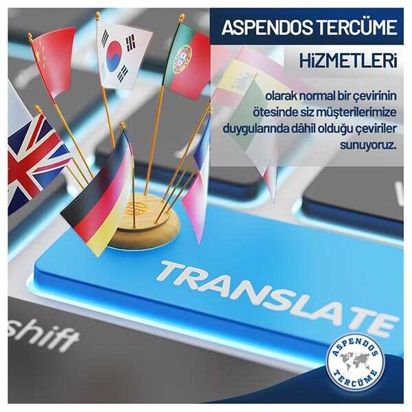 Aspendos Tercüme ve Danışmanlık Hizmetleri A.Ş.