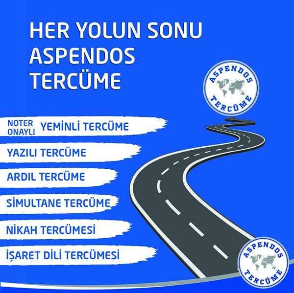Her Yolun Sonu Aspendos Tercüme!
