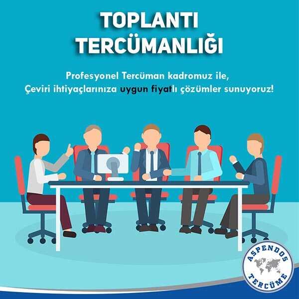 Toplantı Ardıl Çeviri