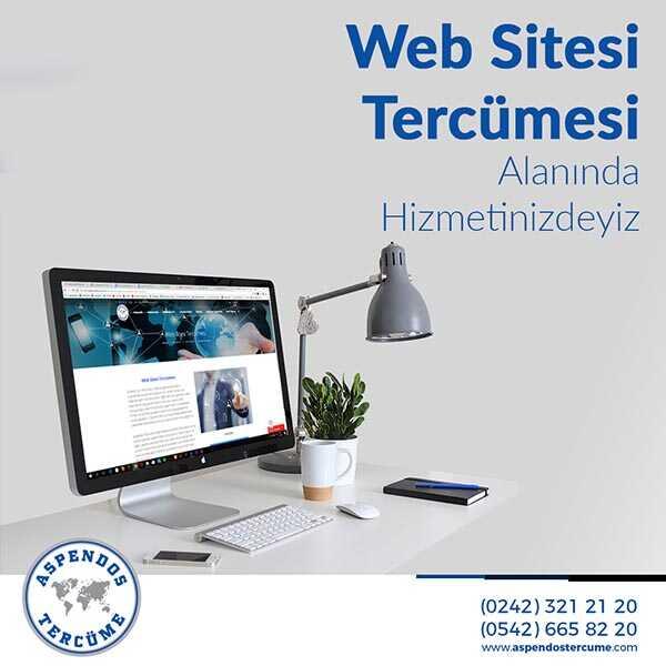 Her Dilde Web Sitesi Yerelleştirme Hizmetleri