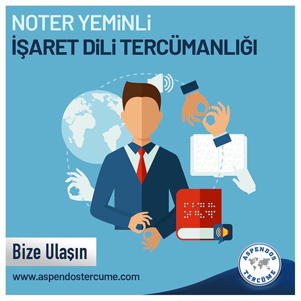 Türk İşaret Dili Tercümesi