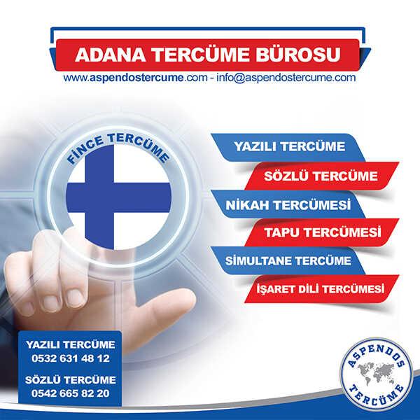 Adana Fince Tercüme Hizmeti