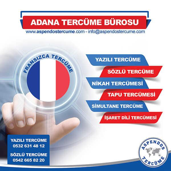 Adana Fransızca Tercüme Hizmeti