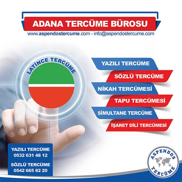 Adana Latince Tercüme Hizmeti
