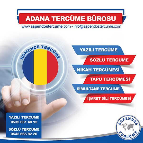 Adana Romence Tercüme Hizmeti