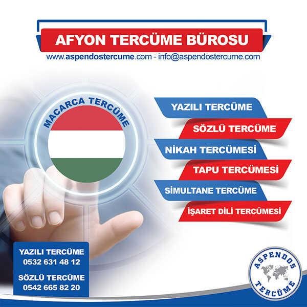 Afyon Macarca Tercüme Hizmeti